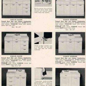 steel kitchen sink base eljer 1955