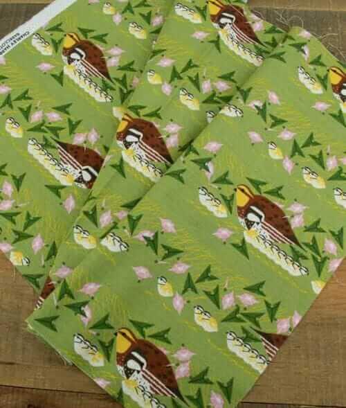 charley harper barkcloth fabric outing design