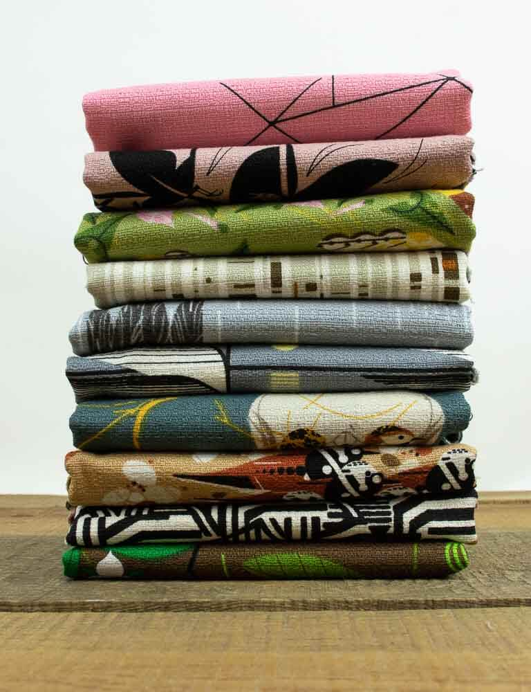 charley harper barkcloth fabric