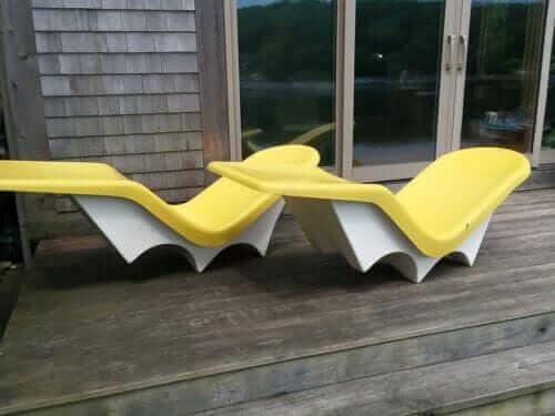 fibrella lounge chairs