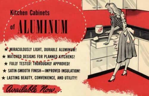 hotpoint aluminum kitchen cabinets
