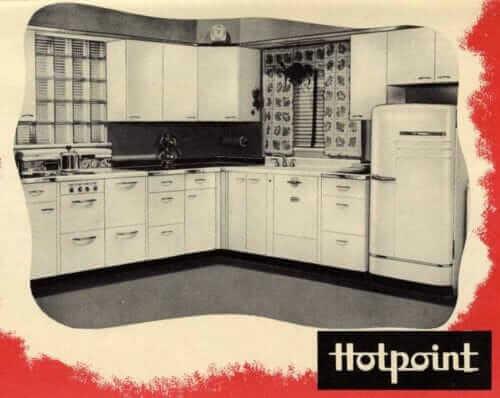 vintage hotpoint kitchen cabinets