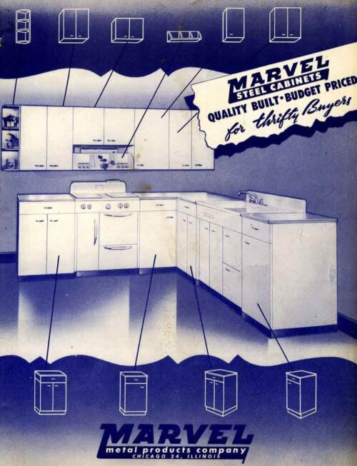 marvel steel kitchen cabinets