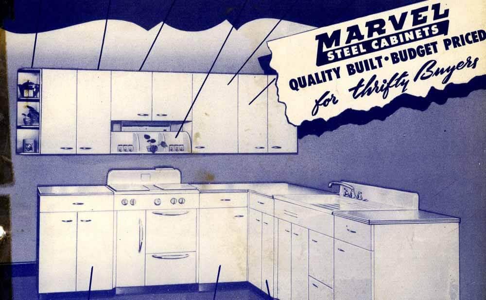 marvel steel kitchen cabinets