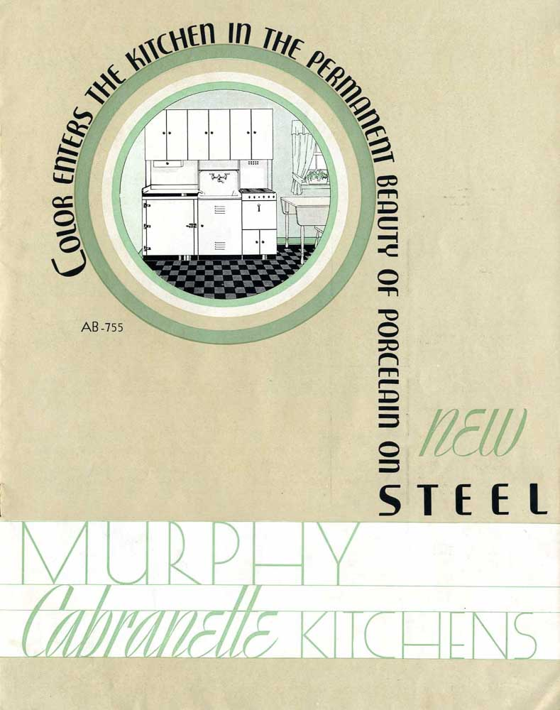 cover of murphy cabranette kitchens catalog