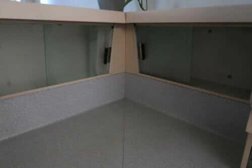 GE corner cabinettes