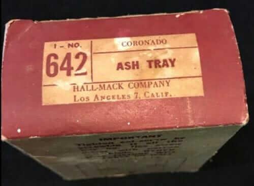 vintage hallmack ash tray