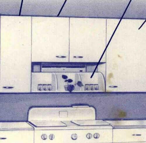 vintage kitchen what not shelf