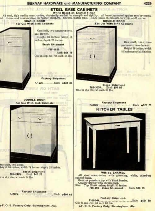 belknap hardware steel kitchen cabinets