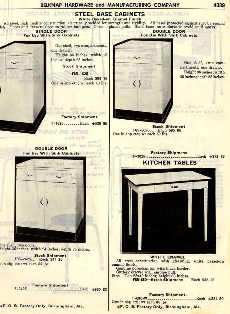 Belknap Steel Kitchen Cabinets - Retro Renovation
