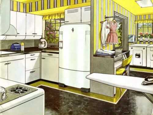 servel vintage metal kitchen