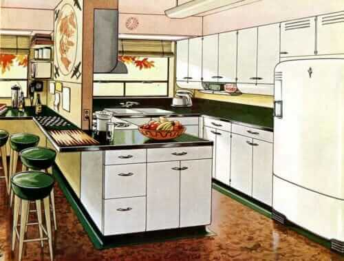 servel teen-age kitchen