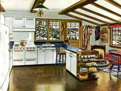 servel metal kitchen cabinets 1946