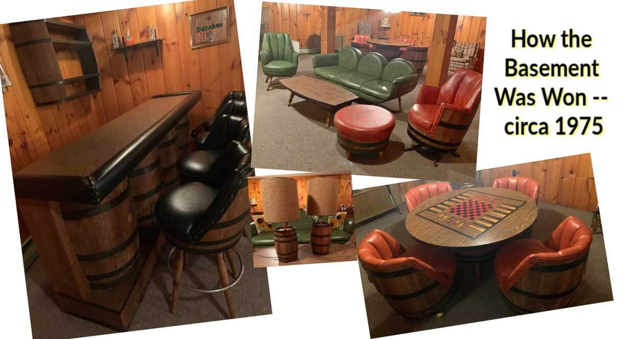 Vintage Whiskey Barrel Furniture