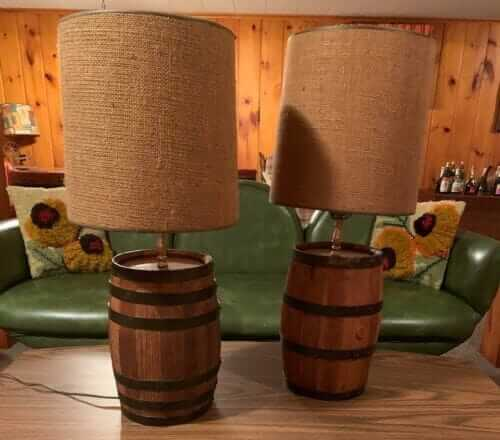 whiskey barrel lamps