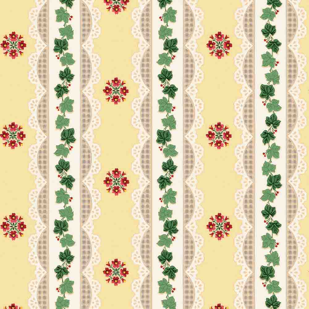 1940s Wallpaper Bradbury Introduces 48 New Reproduction