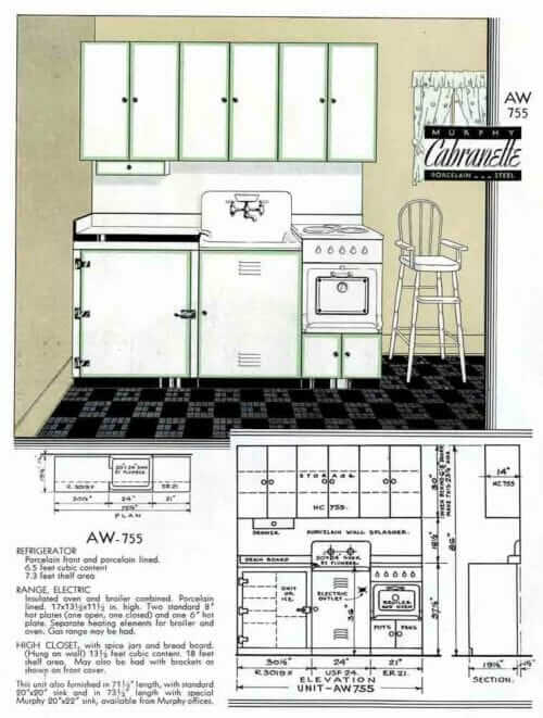 apartment kitchen sets