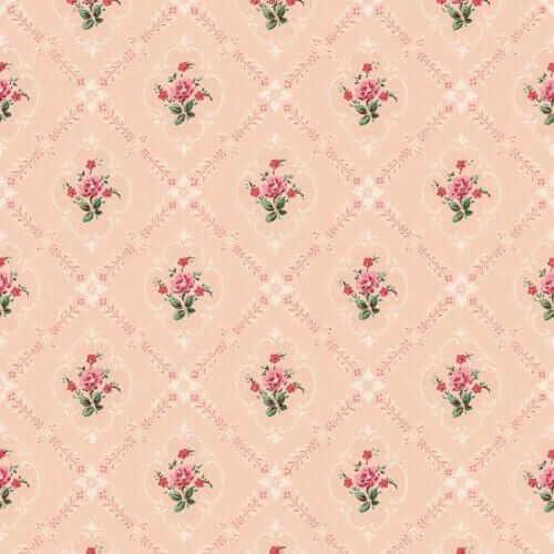 1940s pink wallpaper