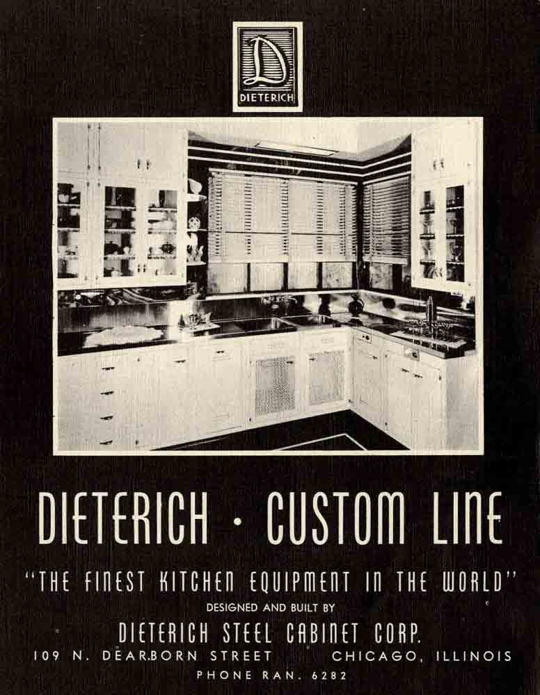 dieterich steel kitchen cabinetrs