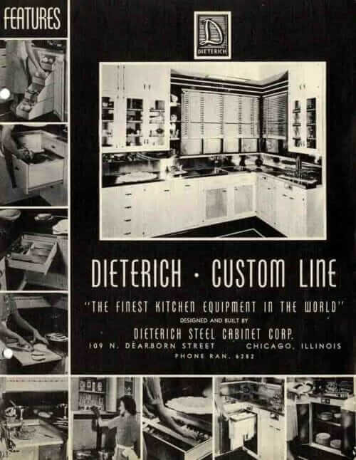 dieterich steel kitchen cabinets
