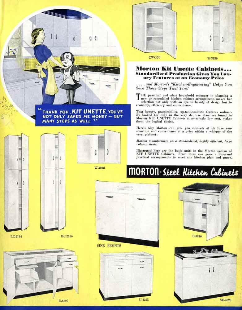 Morton Steel Kitchen Cabinets Since 1942