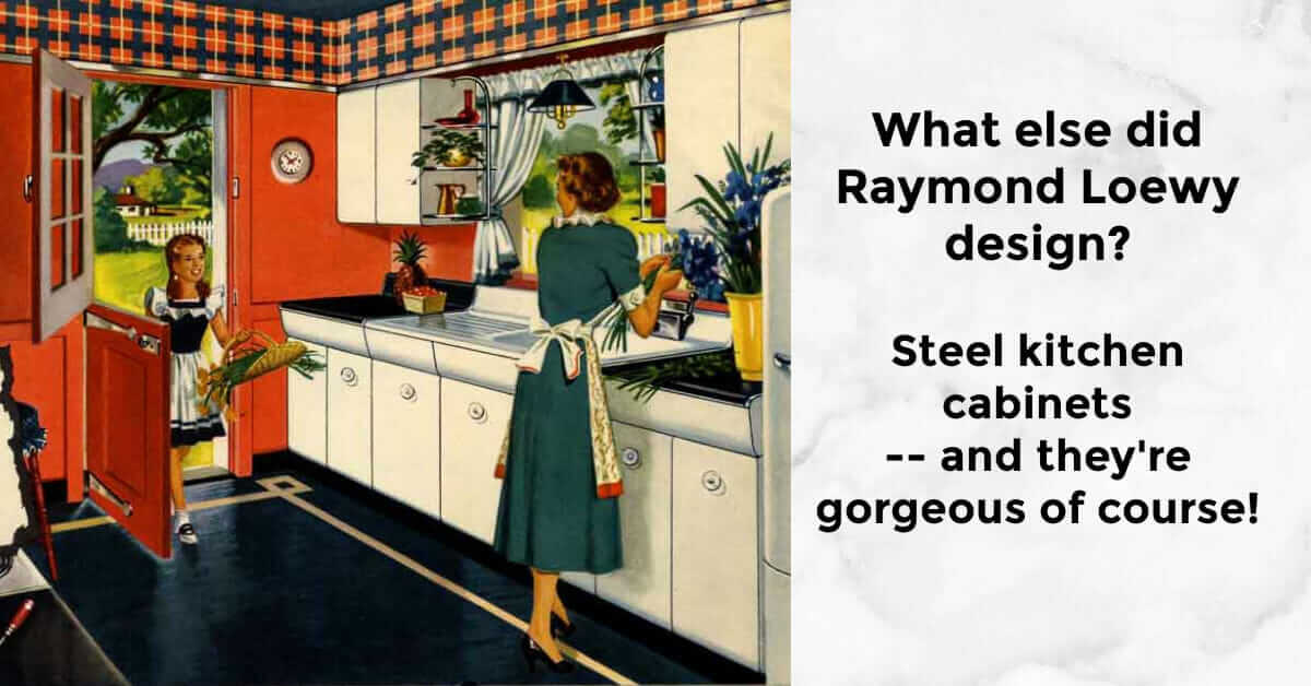 raymond loewy kitchen design