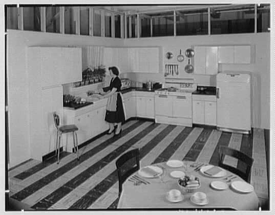 raymond loewy kitchen 1951