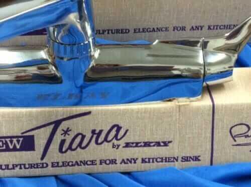tiara faucet by elkay raymond loewy