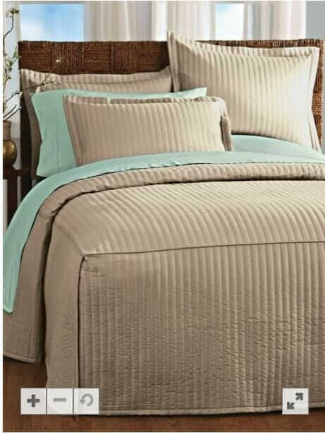 tailored bedspread blair