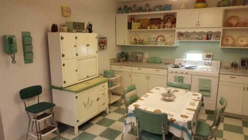 affordable mid century kitchen design