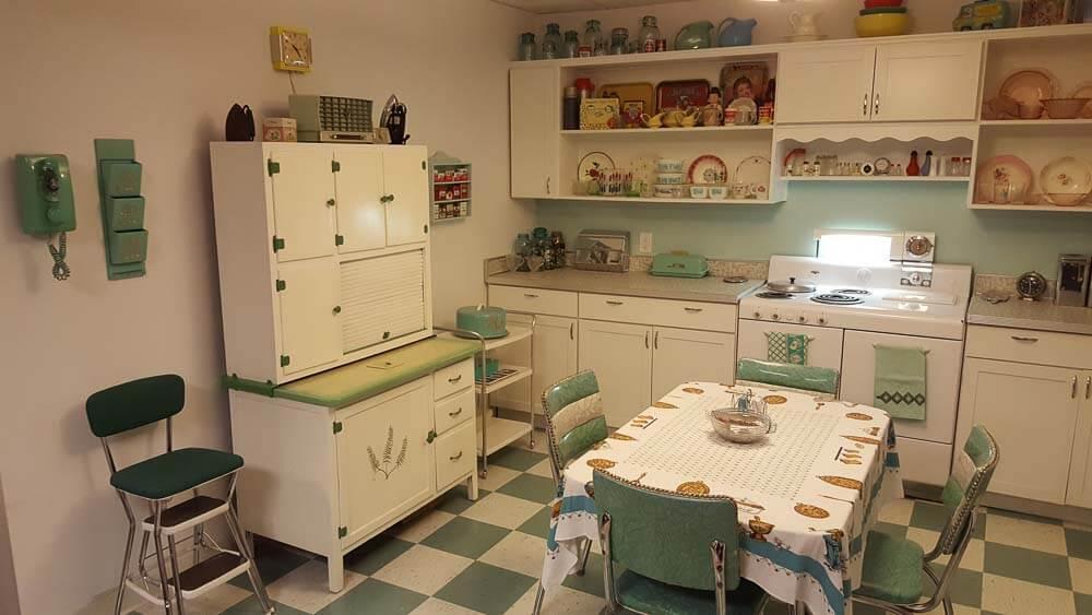 affordable mid century kitchen design