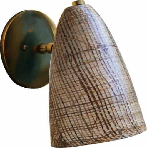 fiberglass bullet sconce hip haven