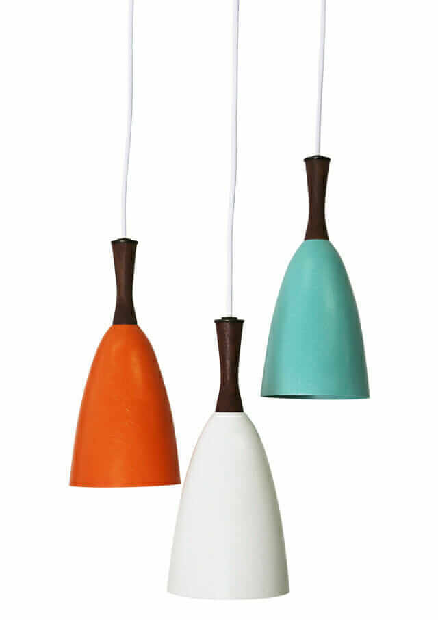 fiberglass bullet pendant lights from hip haven
