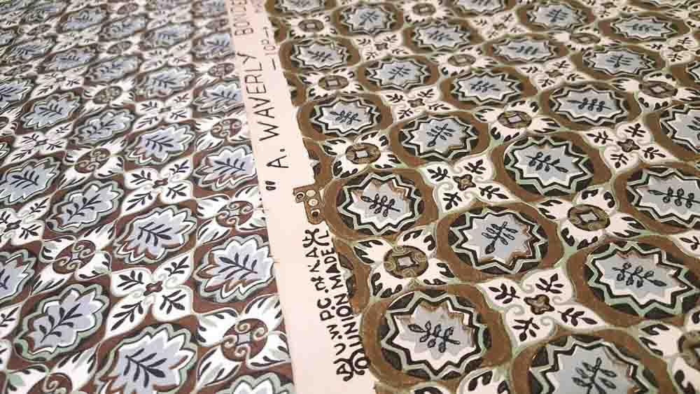 waverly glosheen fabric