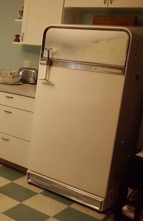 vintage frigidaire refrigerator