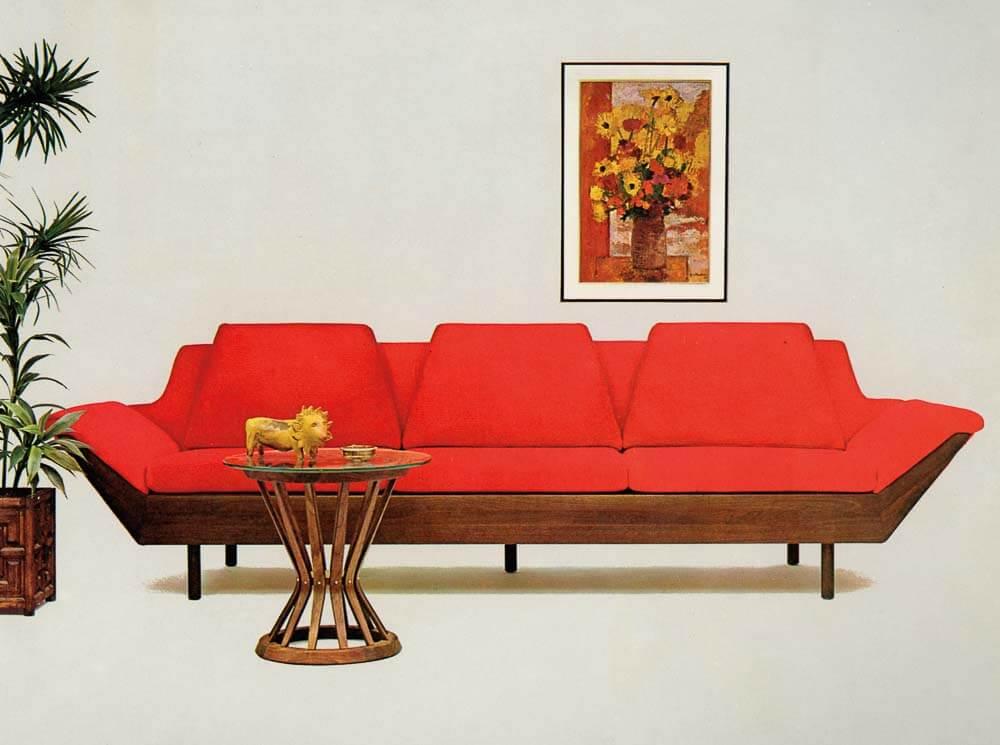 1965 flexsteel thunderbird sofa