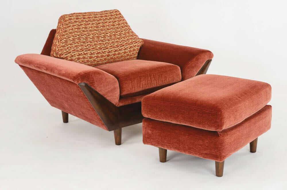 Flexsteel Thunderbird chair and ottoman