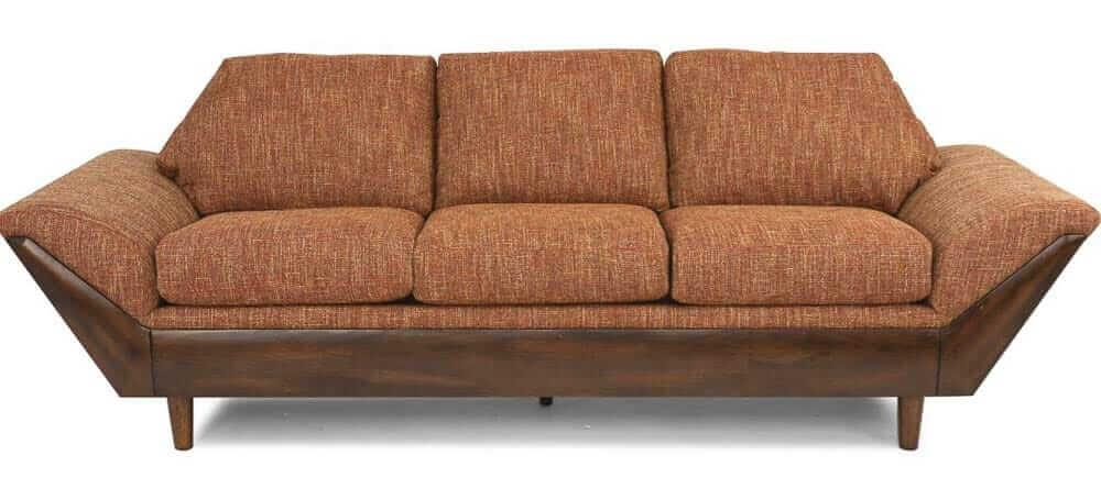flexsteel thunderbird sofa