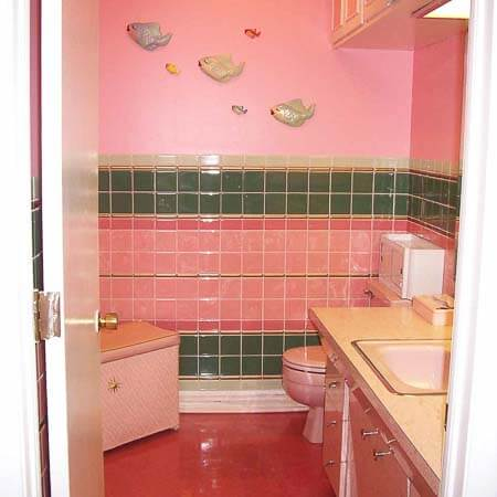 plastic bathroom tile