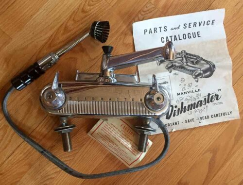 vintage dishmaster new old stock