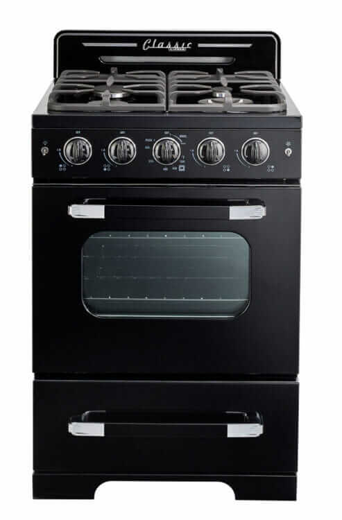 retro stove black unique appliances