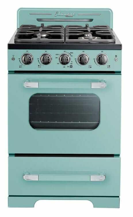 aqua stove mid century new unique appliances