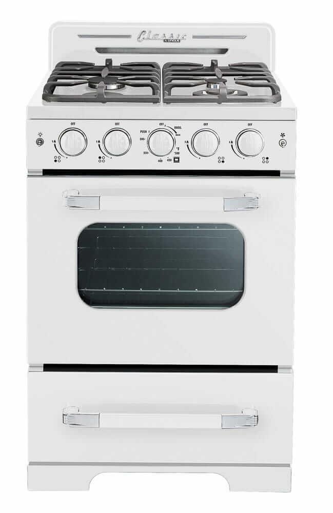 retro stove white unique appliances