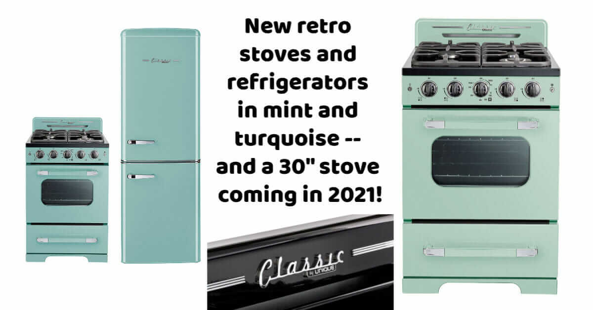 unique appliances classic retro stoves refrigerators