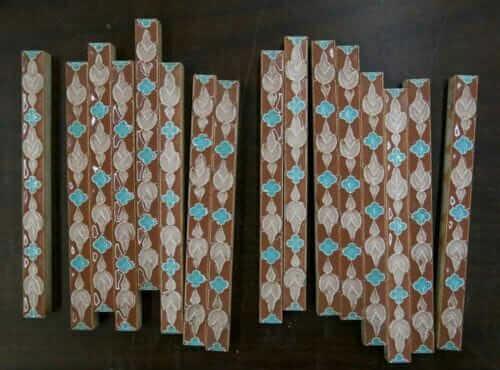 decorative liner tiles