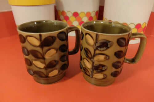 brady bunch coffee mugs otagiri