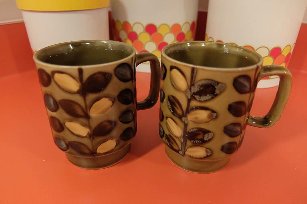 brady bunch coffee mugs otagiri