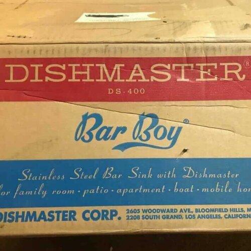 dishmaster bar boy