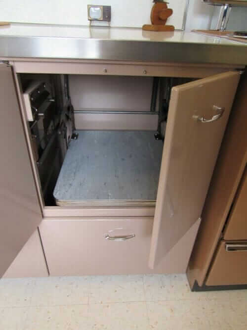 pull out appliance holder kitchen cabinet