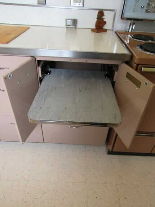 pull out appliance holder